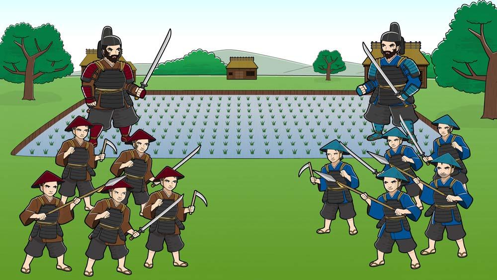 平安時代の野武士