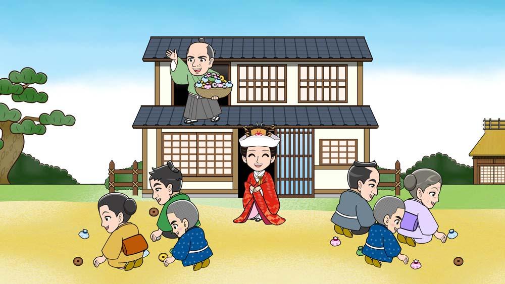江戸時代のお嫁さん