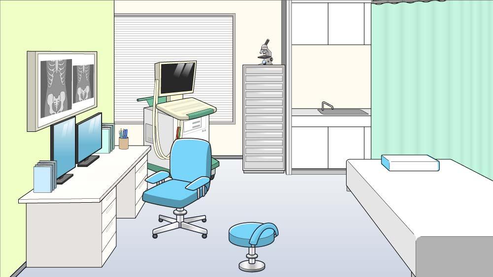 今の診療所のイラスト