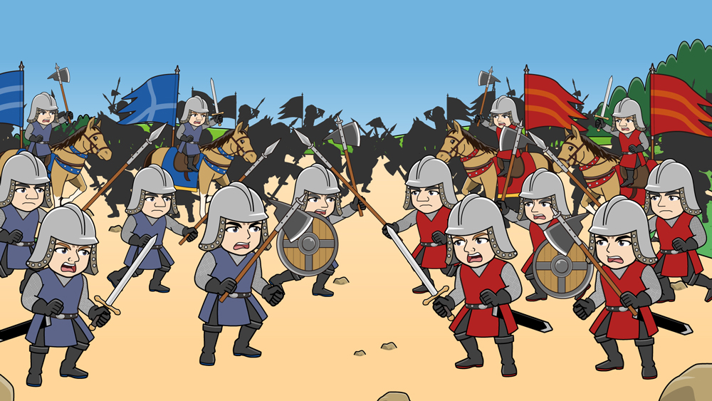 ヨーロッパの戦争
