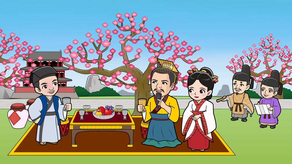 中国のお花見