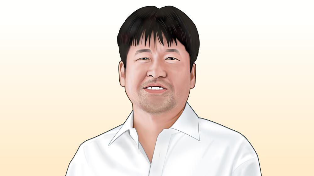 佐藤二朗さん似顔絵
