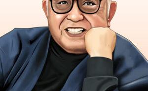 倉本聰さんの似顔絵