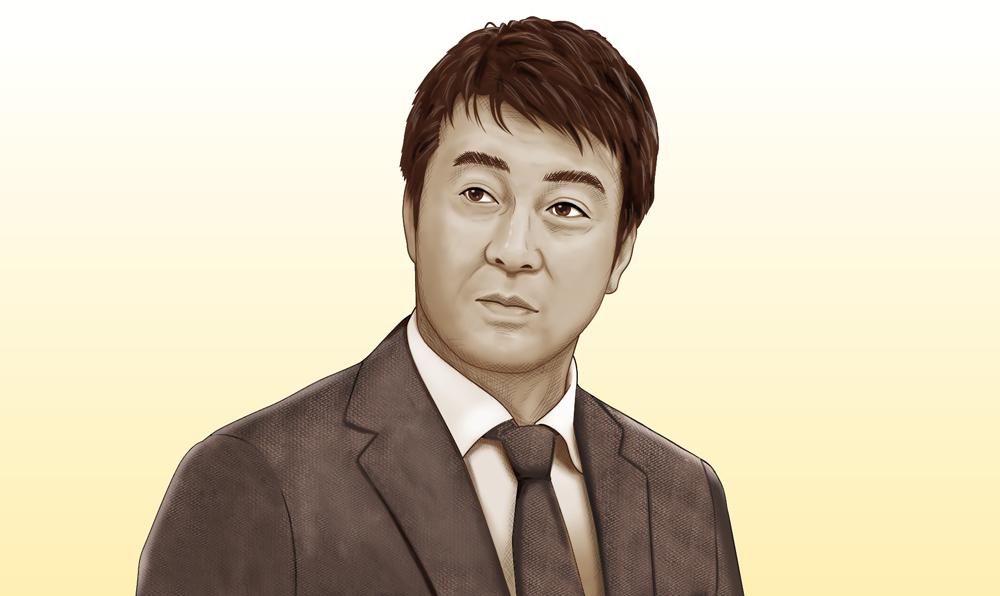 加藤浩次さん似顔絵