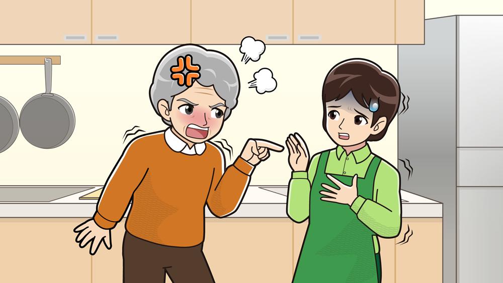 嫁姑の争い