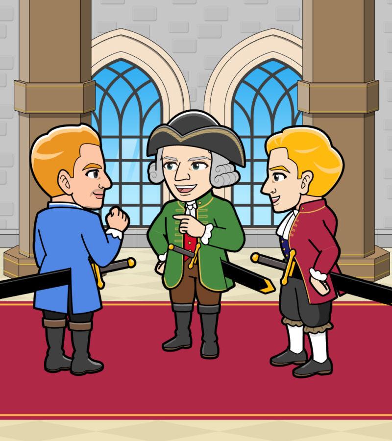 貴族の会話