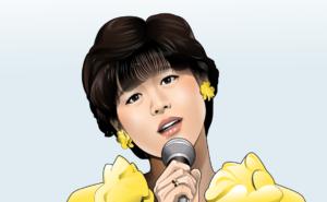 赤いスイートピーを歌う松田聖子さん