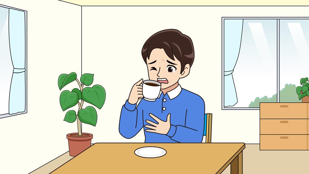 コーヒーが苦い人