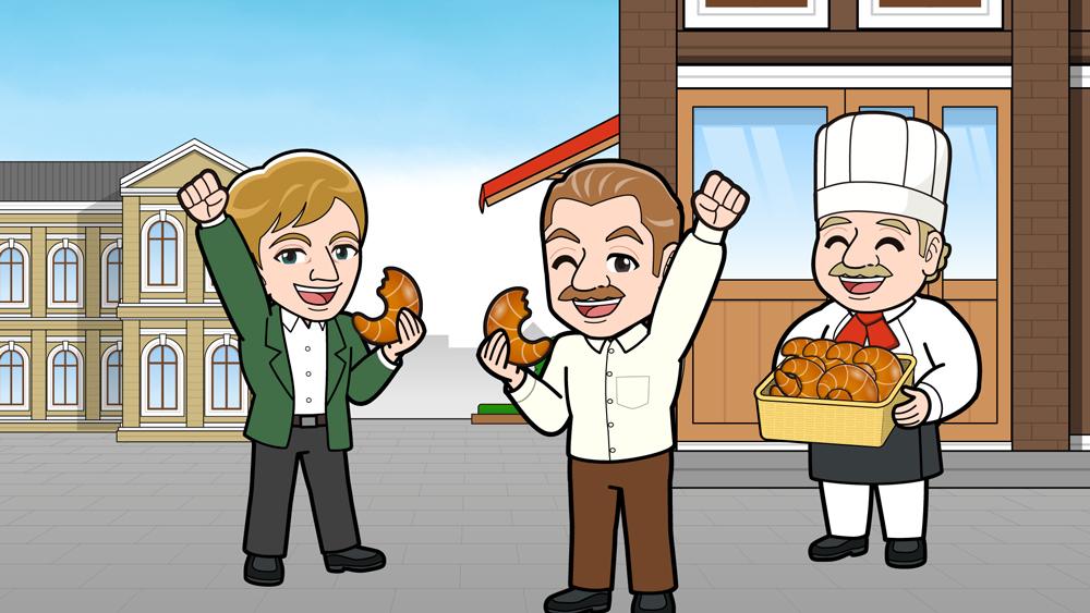 トルコを食べるドイツ人