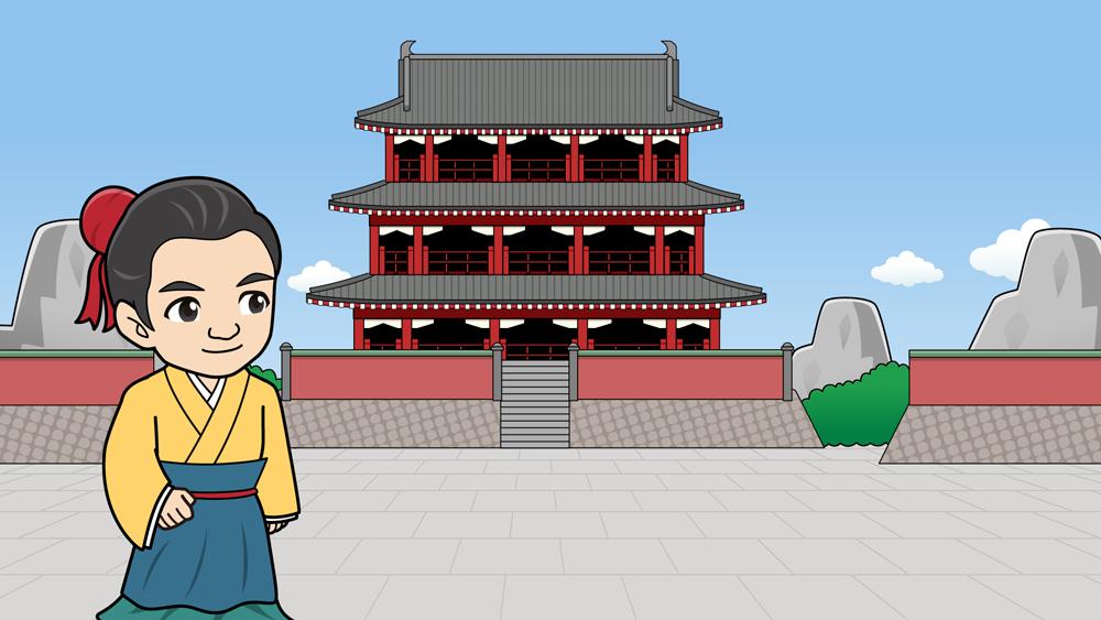 中国のお城
