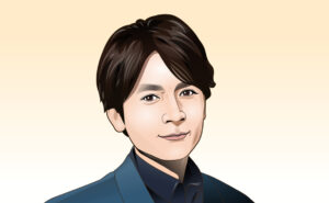 V6長野博さんの似顔絵